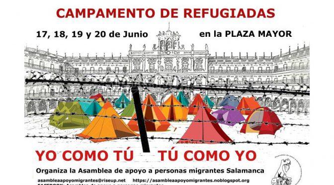 """Próximo evento: """"Campamento de refugiadas"""""""